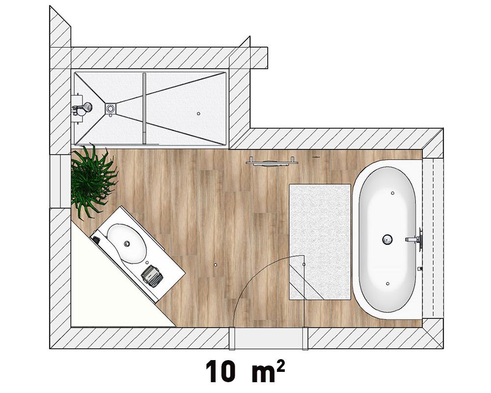 Plan d'implantation collection modern
