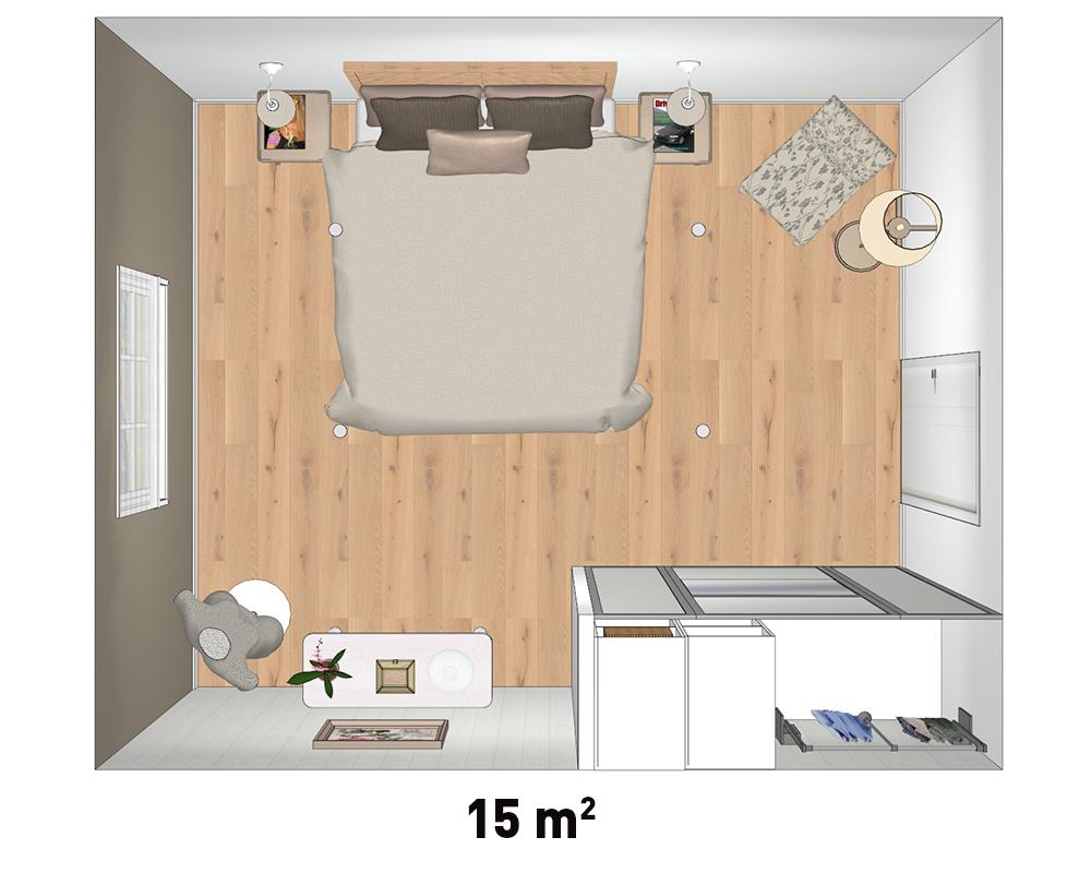Plan d'implantation collection maison de campagne