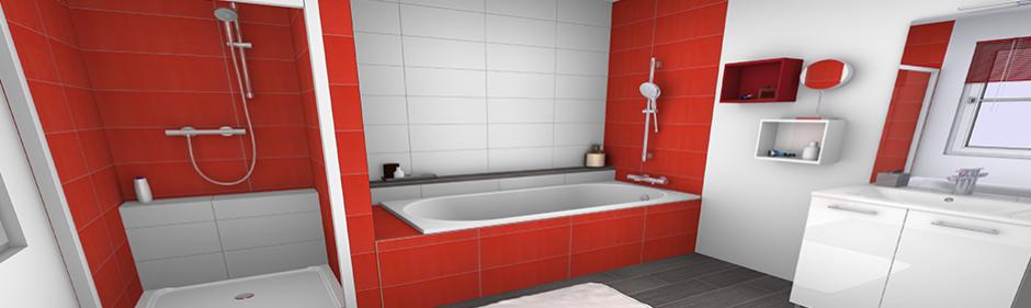 visuel salle de bain ambiance collection pop