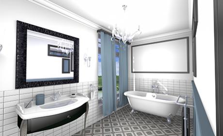 visuel salle de bain ambiance collection rétro