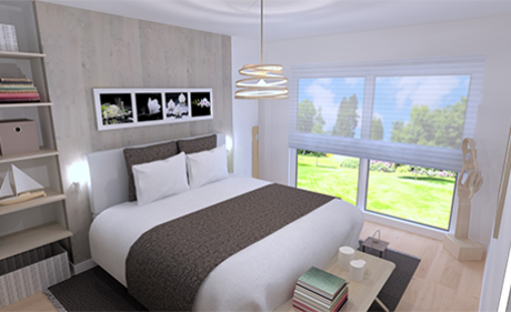 visuel chambre ambiance collection naturel