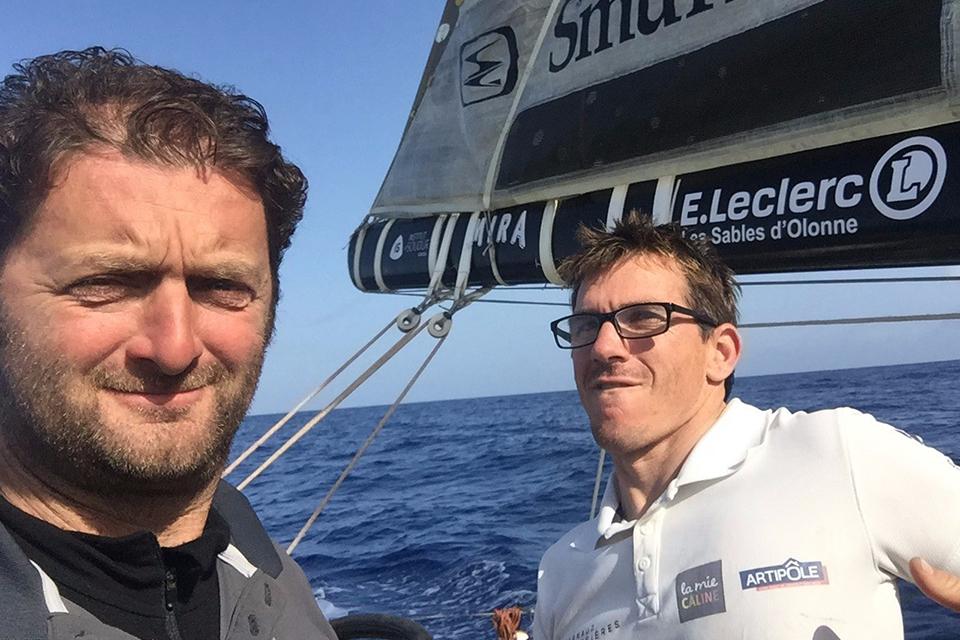 Arnaud Boissières et Xavier Macaire