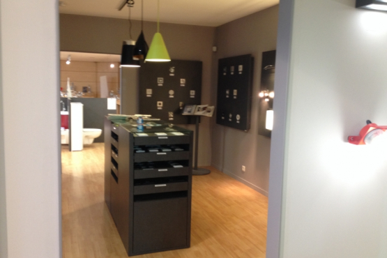 Showroom electricite eclairage VERTOU