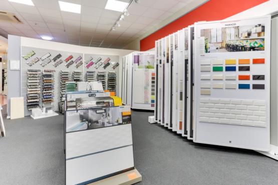 Showroom carrelage SALLE EXPOSITION