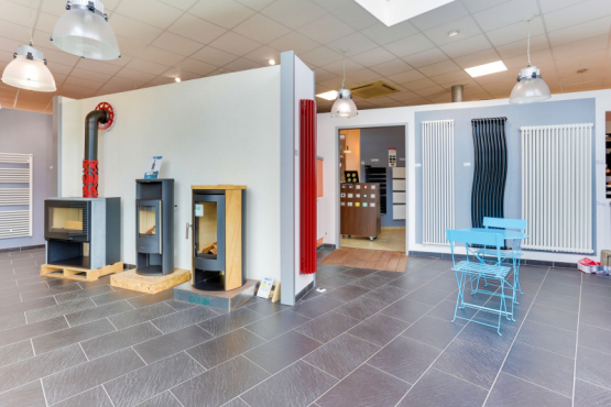 Showroom chauffage SALLE EXPOSITION