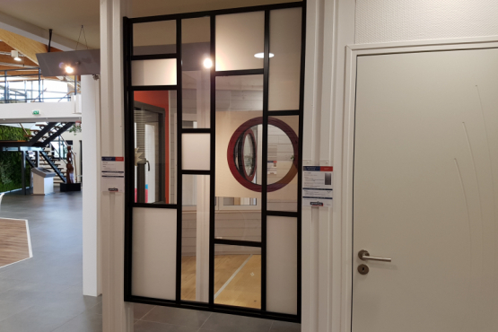 Showroom amenagement interieur CHEMILLE