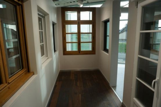 Showroom menuiserie et portes de garage Martigné sur Mayenne