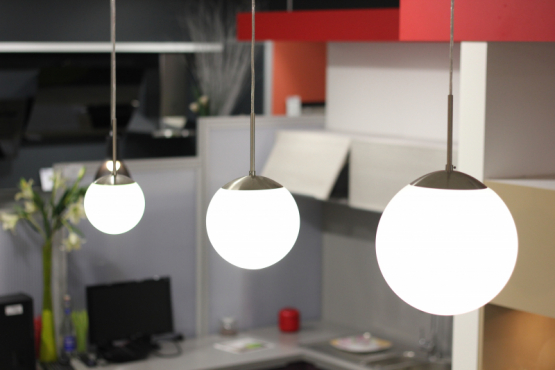 Showroom electricite eclairage La Chaize le Vicomte