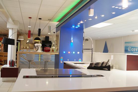 Showroom electricite eclairage Lagord