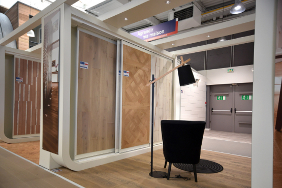 Showroom menuiserie interieure LE MANS