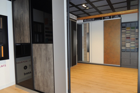 Showroom amenagement interieur PLESCOP