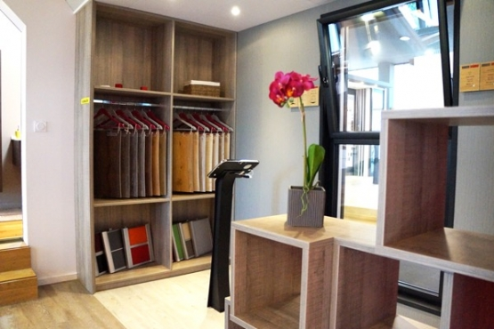 Showroom amenagement interieur SAINT NAZAIRE
