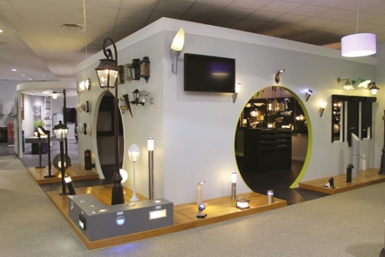 Showroom electricite eclairage LA FERRIERE