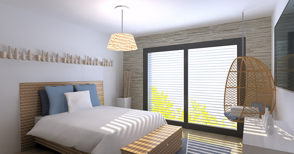 visuel chambre ambiance collection bord de mer