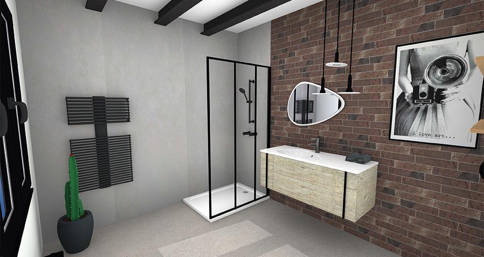 Visuel salle de bain ambiance collection factory