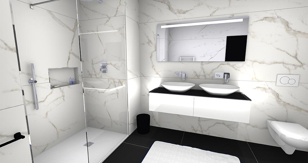 Visuel salle de bain ambiance collection luxe