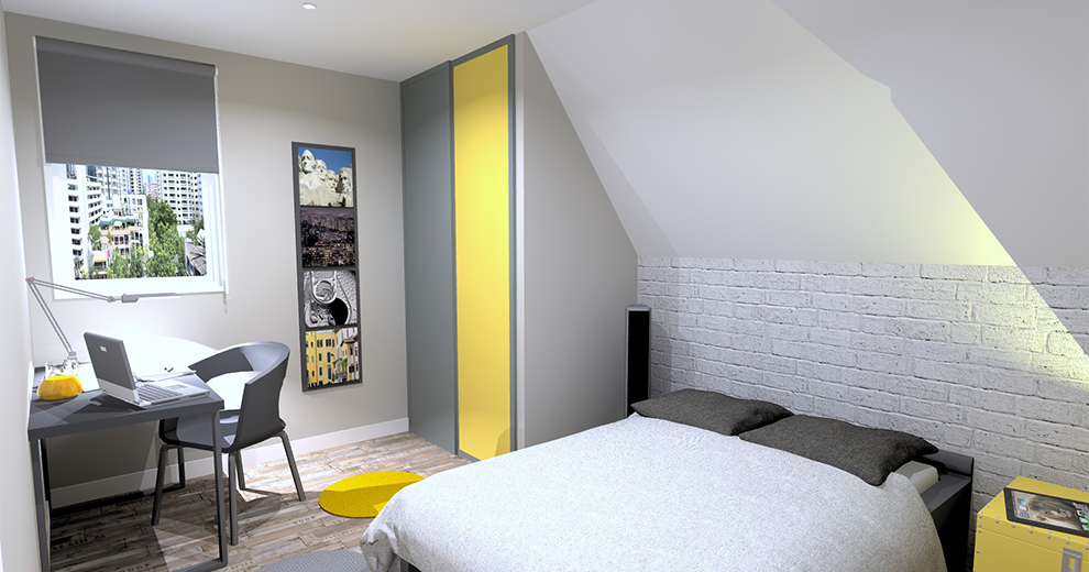 visuel chambre ambiance collection New York