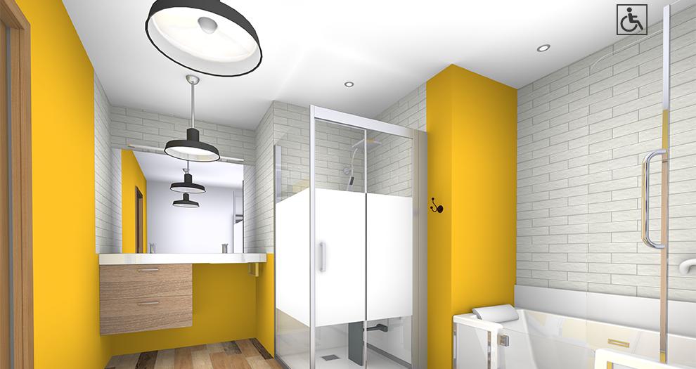 Visuel salle de bain ambiance collection vitamine