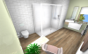 visuel salle de bain ambiance collection scandinave
